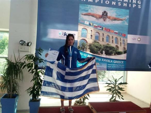 Στον τελικό των 100μ. πεταλούδα η Διαμαντή